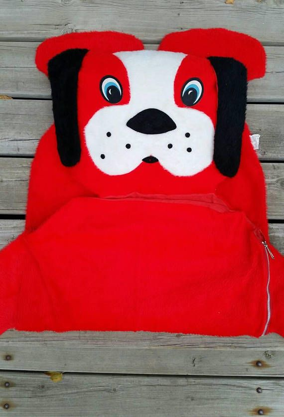 Check out this item in my Etsy shop https://www.etsy.com/listing/559863977/vintage-1960s-red-plush-stuffed-animal