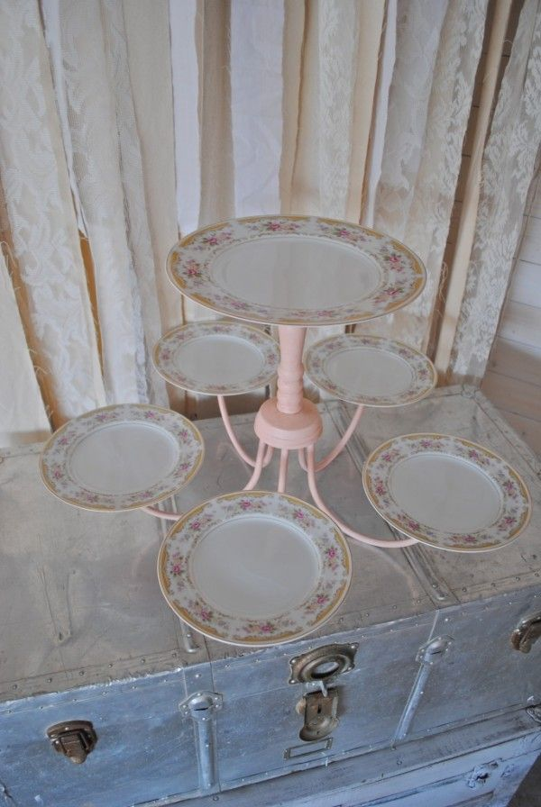 Dessert Stand, Chandelier, RePurposed, UpCycle, Weddings, Events, Decor