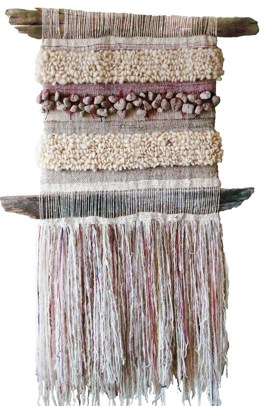 Beautiful Woven Driftwood Wall-hanging