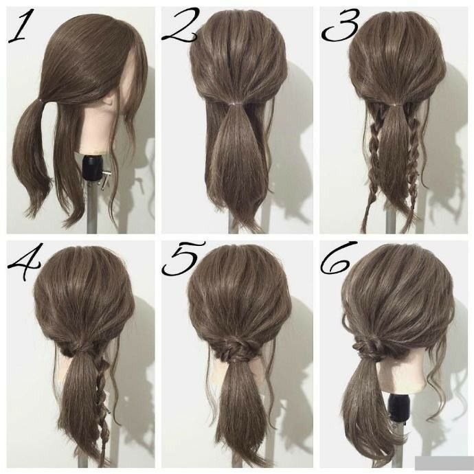 This Hairstyle Is Sent Between You And The Goddess In 2020 Braided Hairstyles Hair Styles Hairstyle