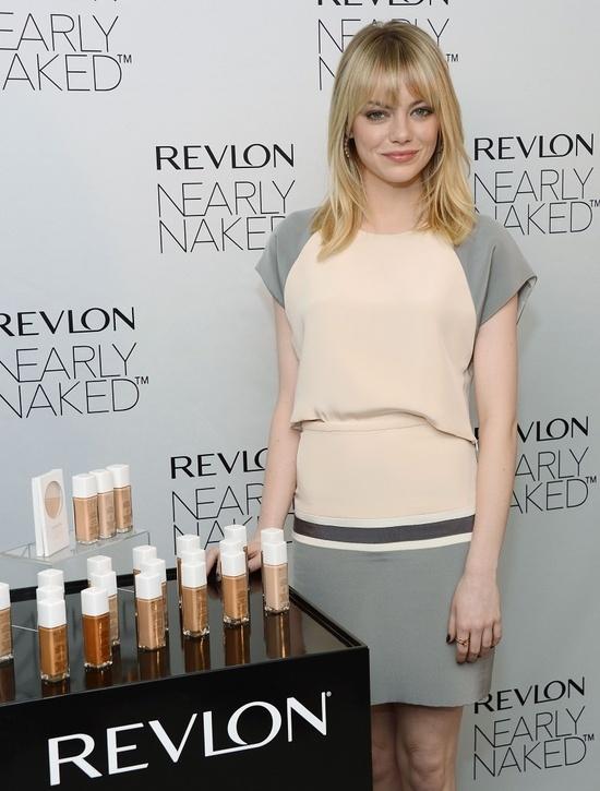 EMMA STONE HQ: 2013 Spring/Summer • Revlon Nearly Naked Makeup