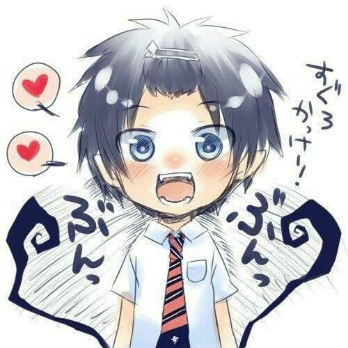 Imagem de anime, ao no exorcist, and blue exorcist