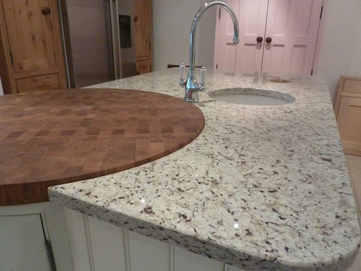 White Counter Tops Look Of White Springs Granite