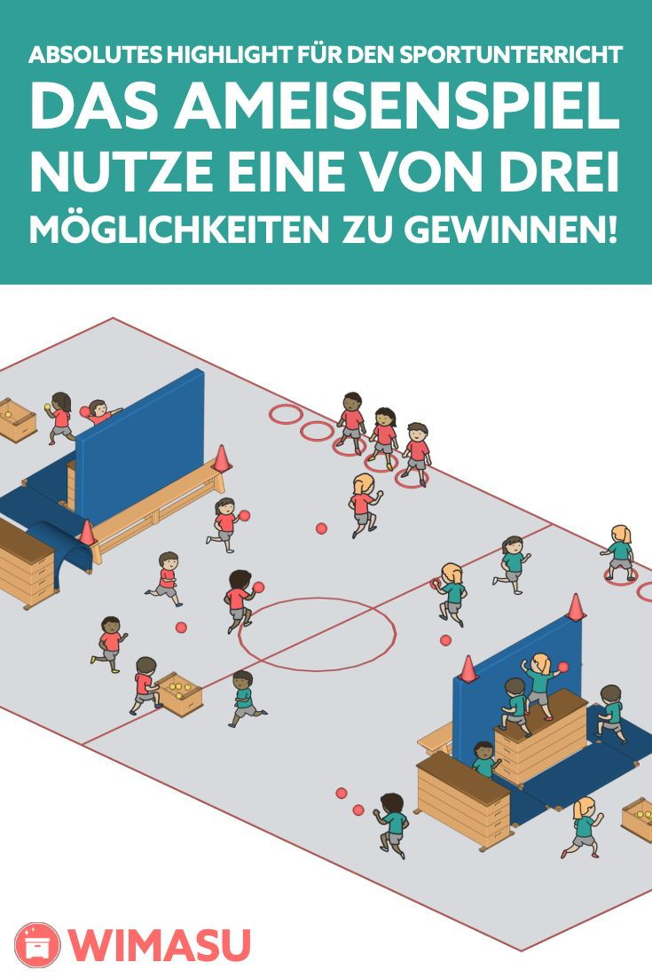 Game of the year for #Sporting lessons! Free #Spielidee for #Grundschule, Gesamtschule, Gymnasium, Hauptschule and Realschule. Here …