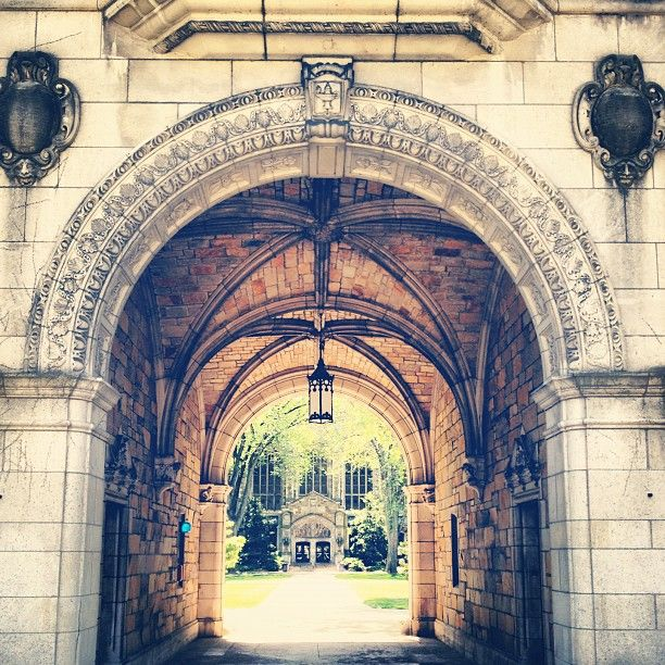 The Michigan Law Quad is one of the most beautiful places on campus.