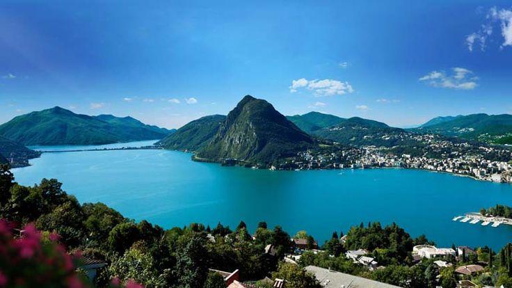Beautiful Lugano Switzerland