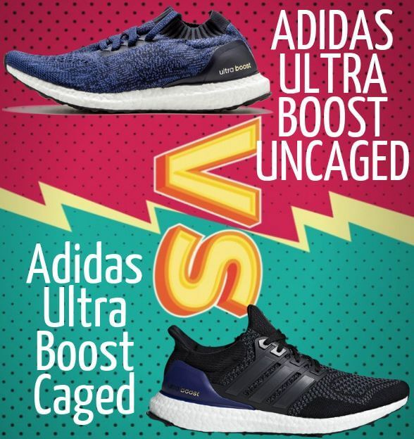 tumor malla Ingenieros  Adidas Ultra Boost Caged VS Uncaged Comparison | Adidas ultra boost, Ultra  boost, Adidas
