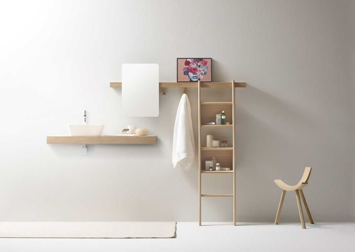 New from the French studio Alki, the Zutik is a wall-mounted design for keeping one's things organized.