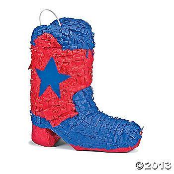 Cowboy Boot Piñata