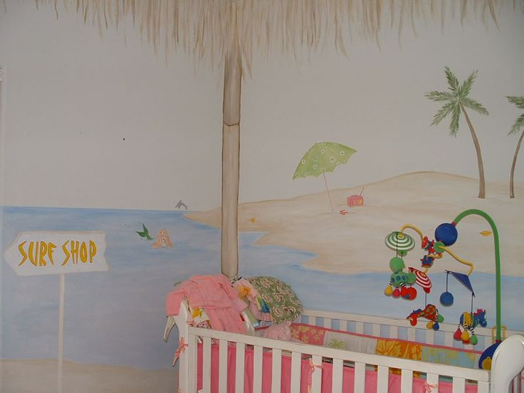 Ocean Theme Room In Baby U0026 Kidsu0027 Furniture   Compare Prices, Read. Nursery Wall  MuralsMural ...