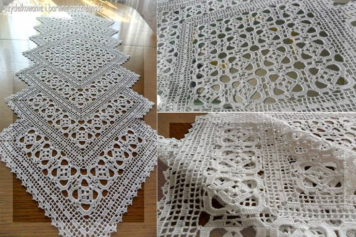 25+ best ideas about Crochet Table Runner on Pinterest ...