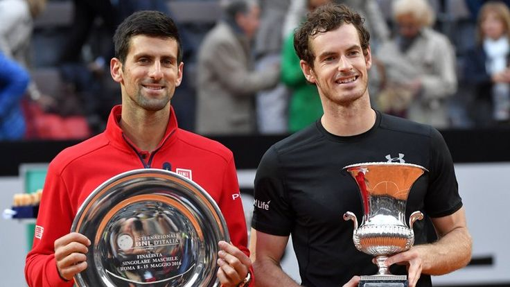 Andy Murray defeats Novak Djokovic to win Rome Masters clay court title