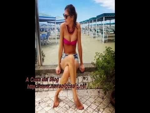 Foto di Flavia Fiadone in bikini in Versilia