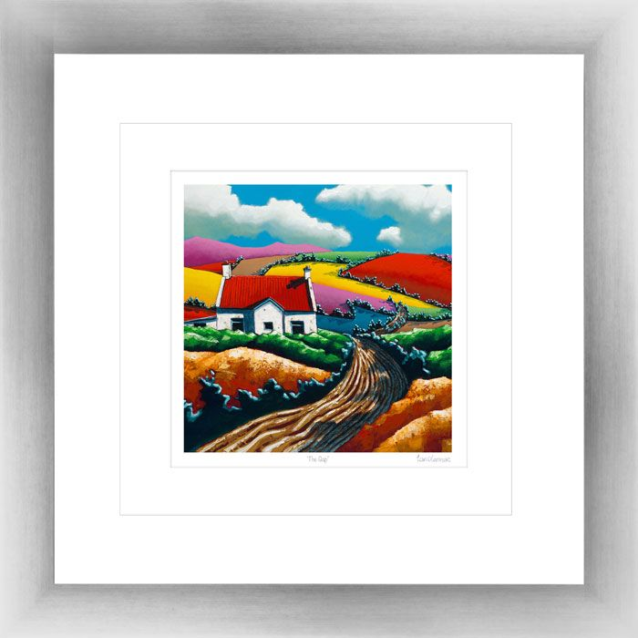 'The Gap' by Eoin O'Connor, framed & mounted, also available in various sizes as a framed print or box canvas.