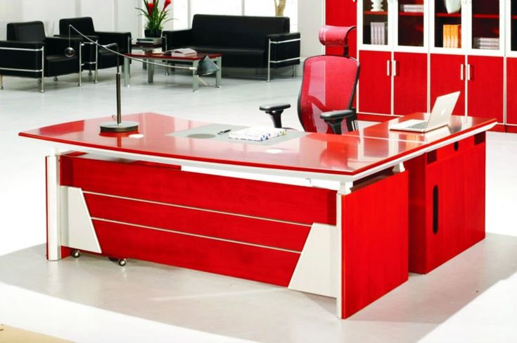 Office, Modern Red Executive Office Desk And Chair: The Best Methods To Succeed Buying Cheap Office Furniture Pieces