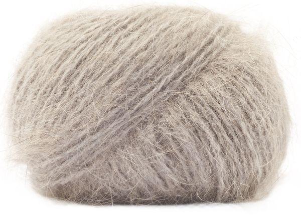Laine Angora Absolu d'Anny Blatt coloris Chinchilla (100% angora) #angora #annyblatt #laine #wool #tricot #knit #rosemouton