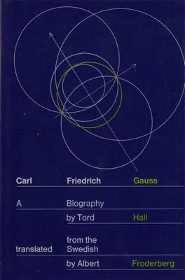 Judge a book.....: Carl Friedrich Gauss