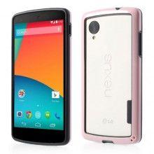 Bumper Nexus 5 Ultra-slim Backless - Rosa  $ 18.721,46