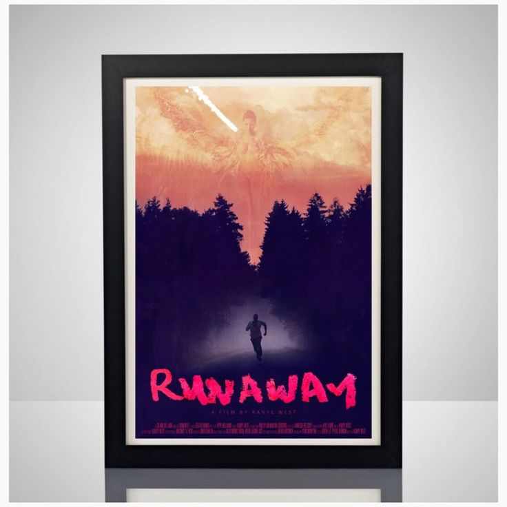 Kanye West Runaway Movie Poster 11x17 Poster Print Yeezus Yeezy Boost Supreme | Art, Art Posters | eBay!