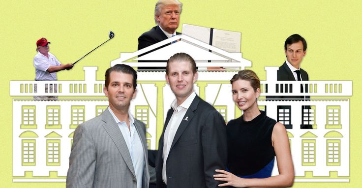 For Ivanka, Eric, Jared, and Donald Jr., every day is Take Our Daughters and Sons to Work Day.