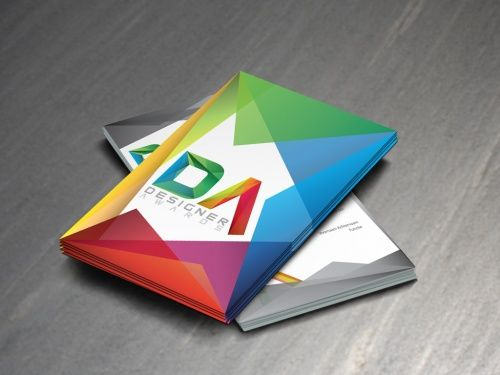 Logo en uitnodiging voor designer awards