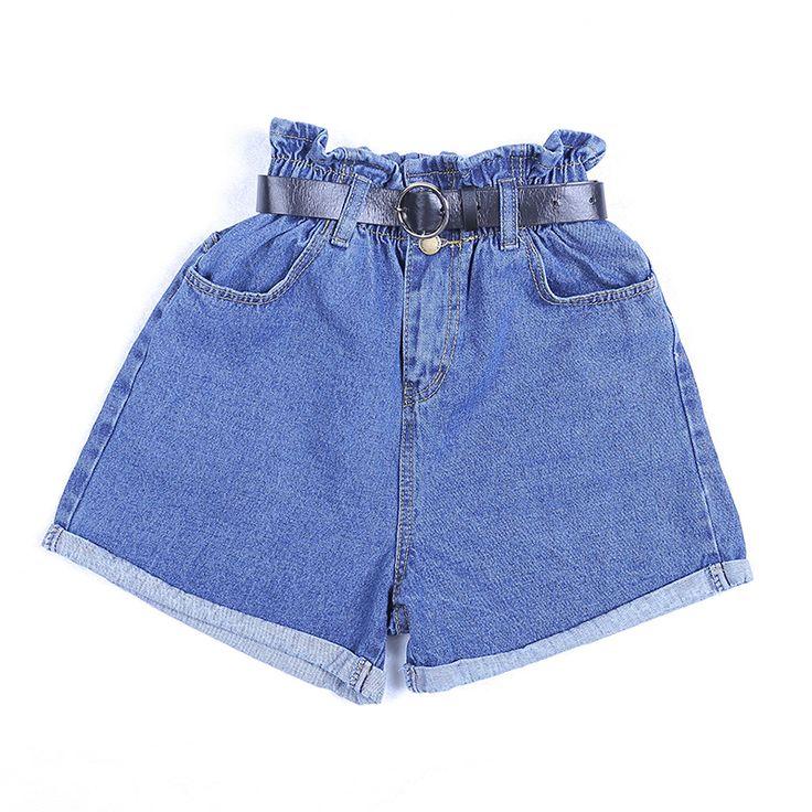 Jeans shorts damen schwarz