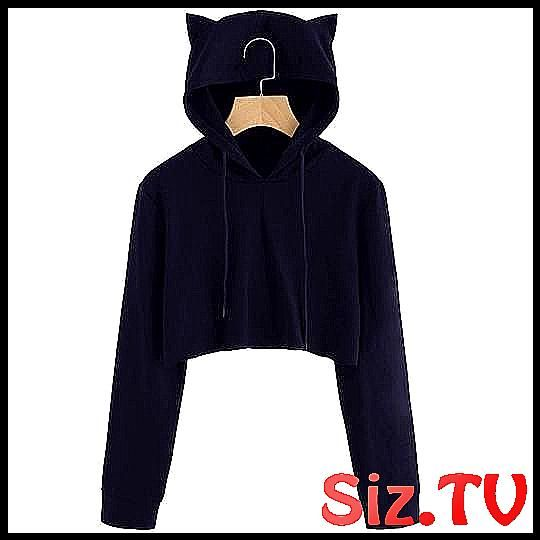 Autumn 2018 Harajuku Crop Top Sweatshirt Hoodies W #Autumn #Clothes #Crop #Cropp…