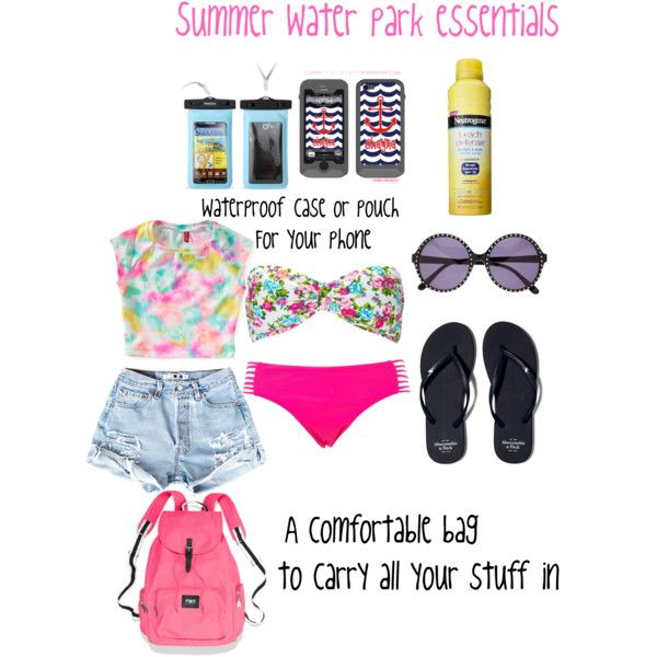 Water park essentials for this summer