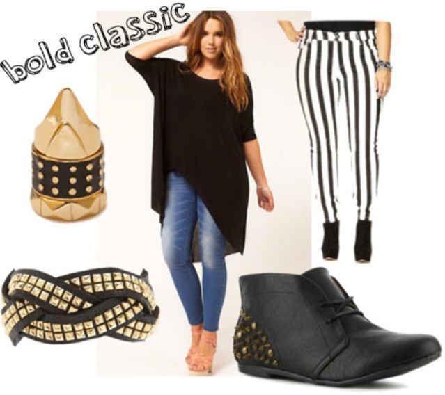 Plus Size Fashion: 3 Stylish Back-to-School Outfit Ideas, – Back To School Outfit