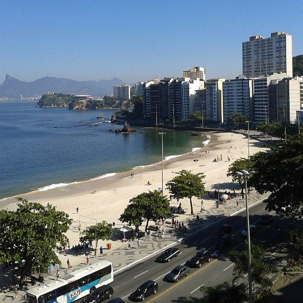 Praia de Icaraí em Niterói, RIO DE JANEIRO - BRASIL