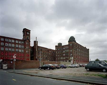 Paragon Mill (tower) and Royal Mill (dome) , Ancoats, Manchester