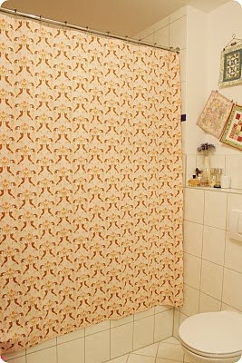 heather ross mendocino mermaids fabric shower curtain.  2010