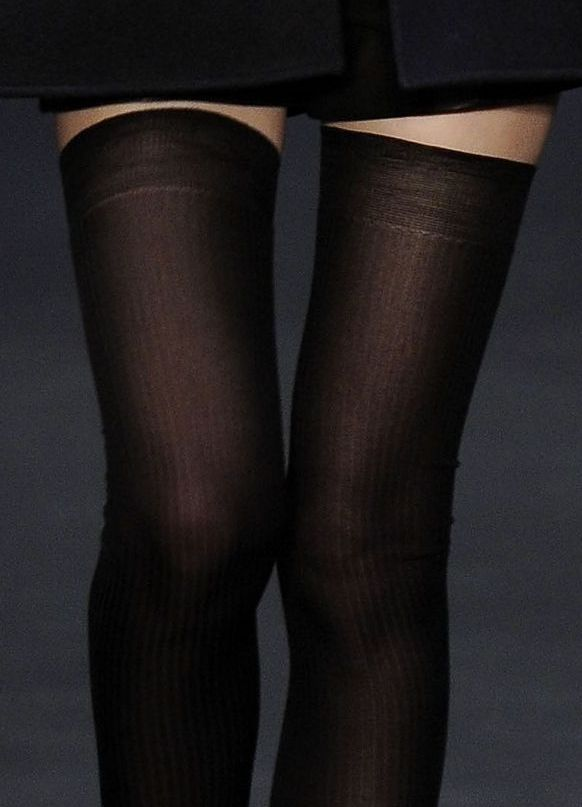 thigh high stockings...