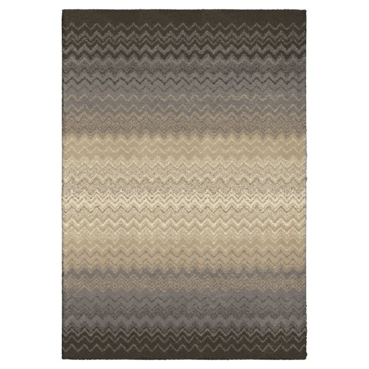 Orian Rugs Waves Waving Chevron Plush Area Rug - 353983