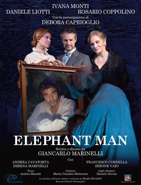 Teatro #Sardegna: #Sassari, Elephant Man con Debora Caprioglio
