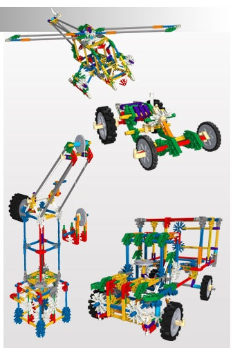 K'NEX Classics - K'NEX Classics 30 Model Building Set #virtualpiggy