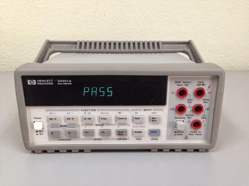 Multimetrul Keysight 34401A de la Agilent poate fi vizualizat si achizitionat de pe site-ul Ronexprim.