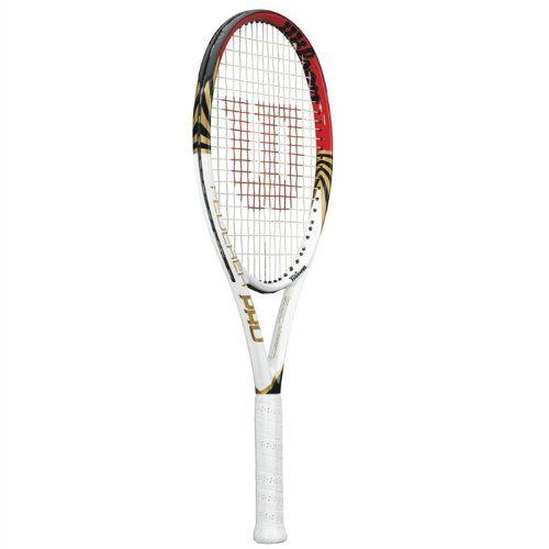WILSON Federer Adult Tennis Racquet - http://www.closeoutracquets.com/tennis-racquets/wilson-federer-adult-tennis-racquet/
