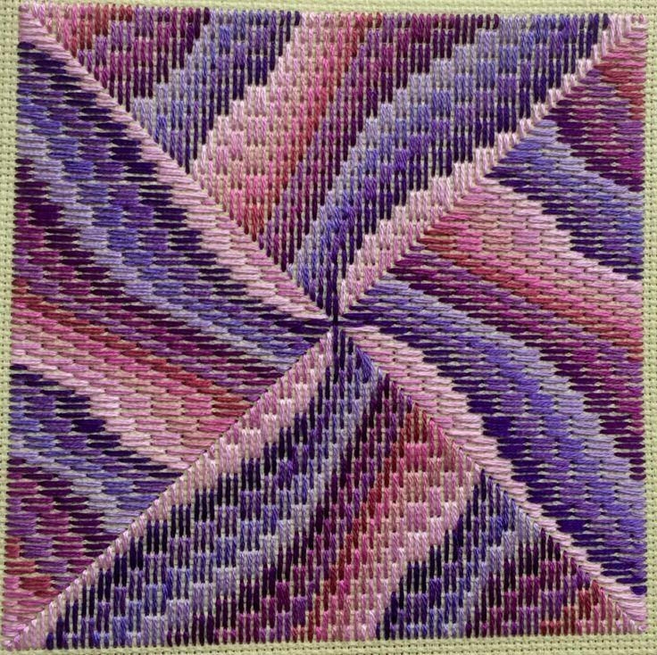 4 Way Bargello Needlepoint Patterns