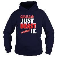 Cleveland Baseball Basketball Just Beast It Champs Sports Fan Hoodie