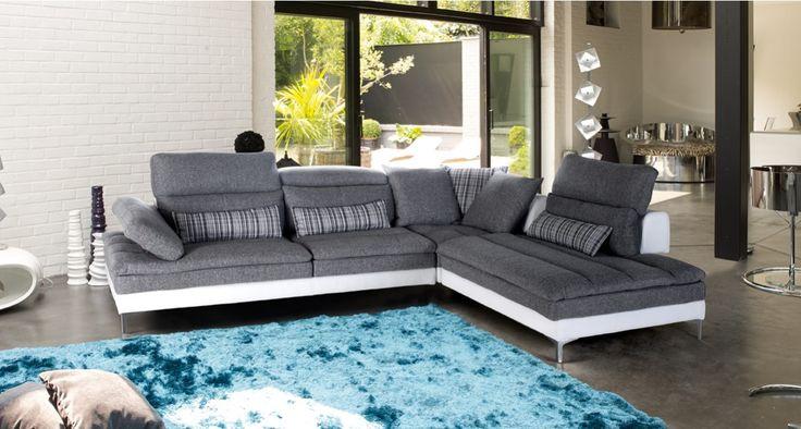 salon d angle bellini salon d angle dossiers profondeur r glable 3 t ti res relevables l 320. Black Bedroom Furniture Sets. Home Design Ideas