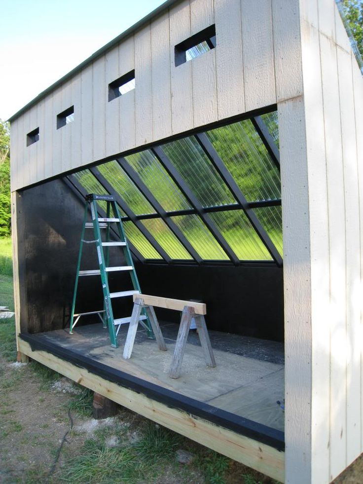 One of our Norwood Connect members built a solar kiln to dry his lumber. See how this, and many other projects, were built.  http://forum.NorwoodSawmills.com/