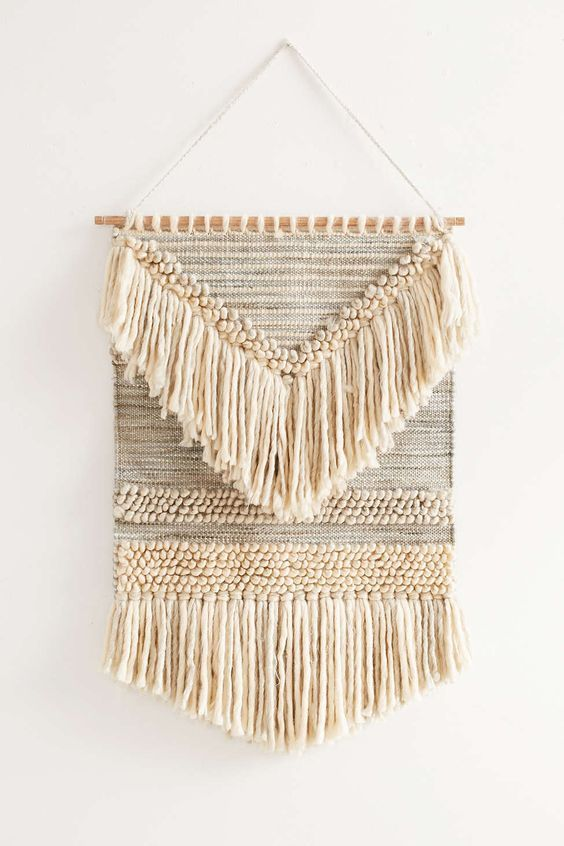 Magical Thinking Textured Shaga Wall Hanging                                                                                                                                                                                 Plus: