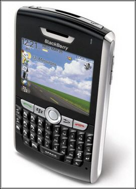 The BlackBerry 8800 with GPS support. We Love it