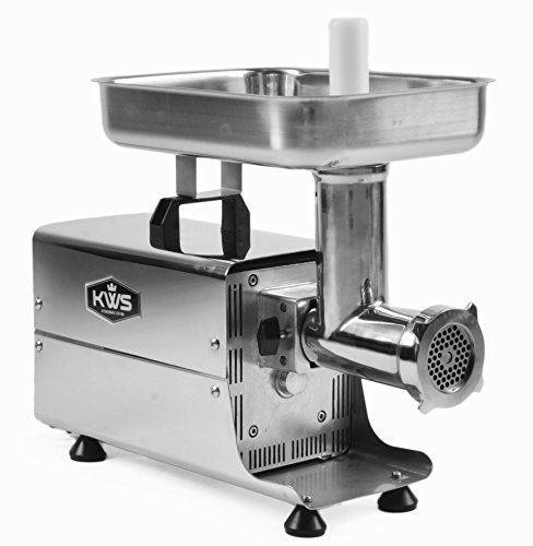 KWS Commercial Electric Meat Grinder Stainless Steel Meat Grinder ME-8 300w //Price: $ & FREE Shipping  // #home #decor #interior #room #kitchen   #homesweethome #homedesign #myhome
