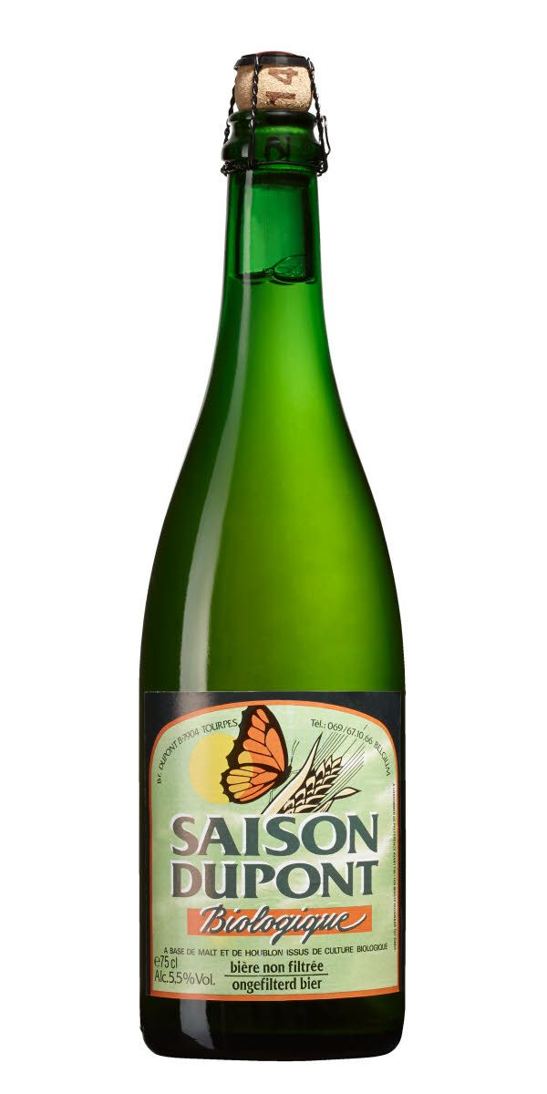 Ekologisk version av klassiska Saison Dupont, som fortfarande är en mycket fin representant för stilen Saison.