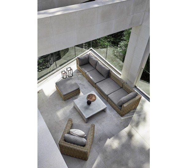 Muubs - Laizse Loungesæt - Polyrattan - Brunt loungesæt i polyrattan