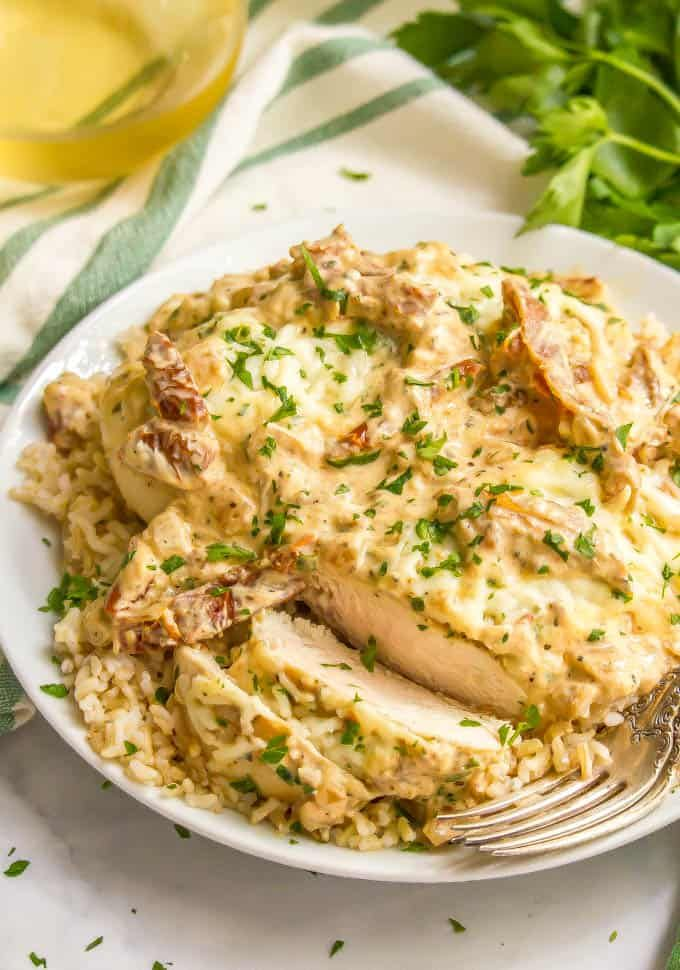 Healthy Creamy Italian Chicken Skillet Recipe Food For The Soul