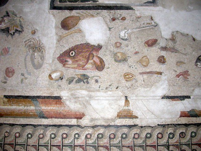 Non spazzato not swept tipo di mosaico for Mosaico pavimento