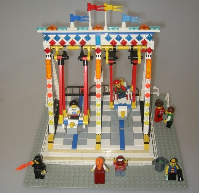 lego ideas fairground swing boat lego pinterest boats lego and swings. Black Bedroom Furniture Sets. Home Design Ideas